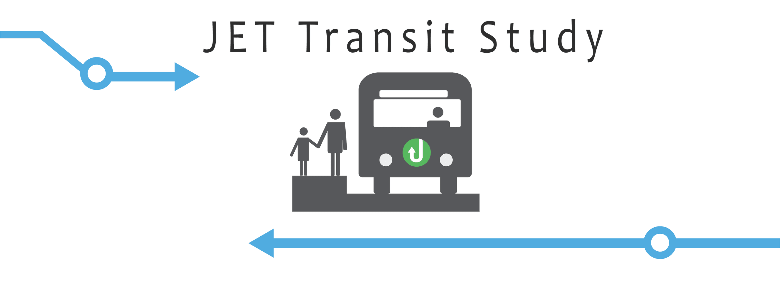 JET Transit Study Heading Graphic