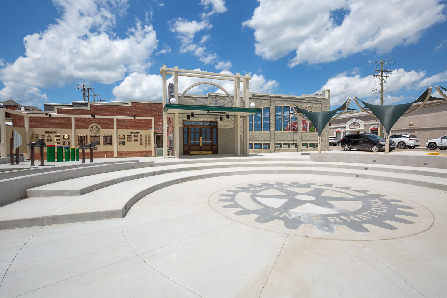 Rotary Club of Jonesboro Centennial Plaza