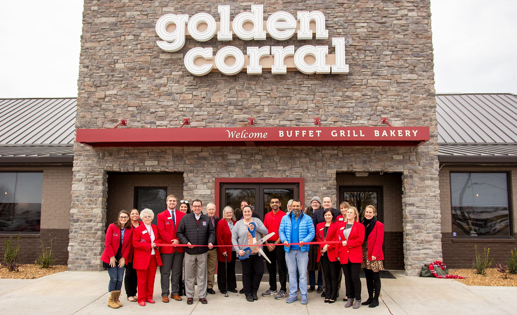 golden corral of jonesboro ribbon cutting