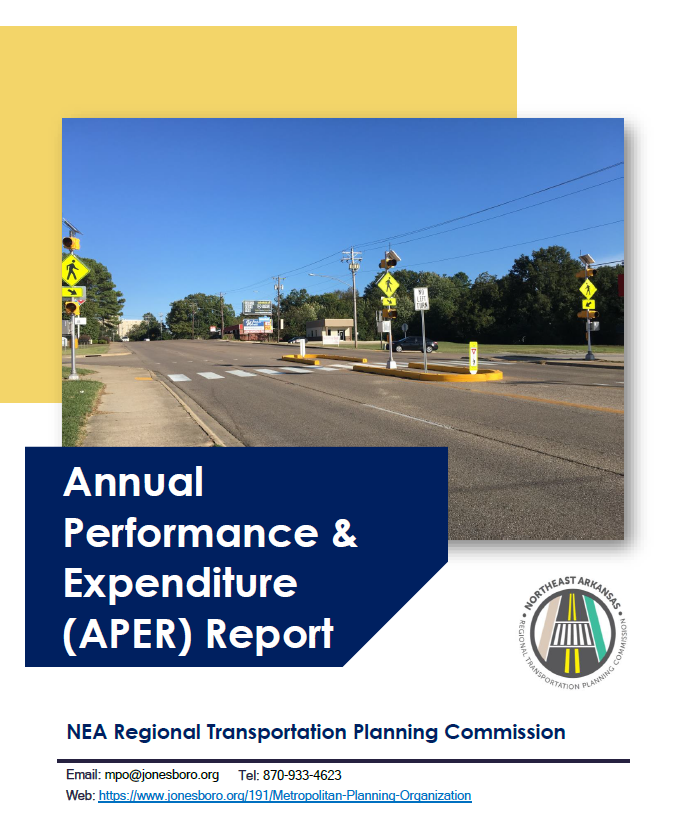 FY 2020 Annual Performance & Expenditure Report Cover