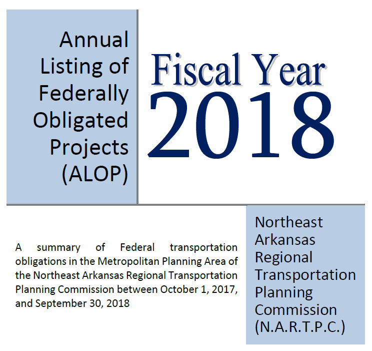 FFY 2018 ALOP Cover Page